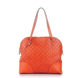 Gucci leather burnt orange shoulder bag Never Used